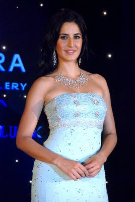 Katrina Kaif in designer Diamond Set from Nakshatra Jewellery
