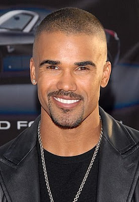 Shemar Moore buzz hairstyle