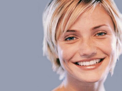 cameron diaz short haircut. Cameron Diaz Short Hairstyle