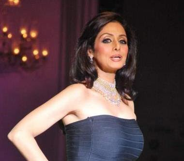 Actress Sridevi in Designer Jewelry @ HDIL Couture Week