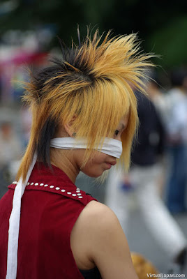 Japanese Harajuku Hairstyle Fashion