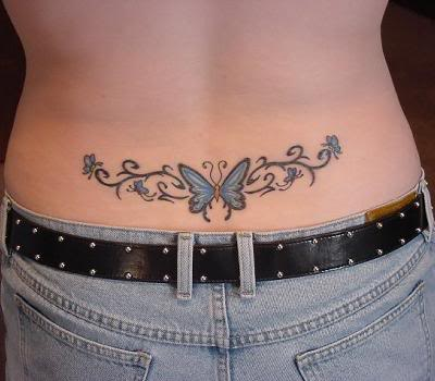 Sexy Butterfly tattoo for