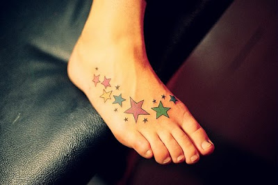 Sexy Star Tattoo Designs For Girls