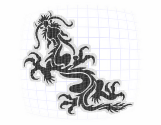 Chinese Dragon Tattoo Design
