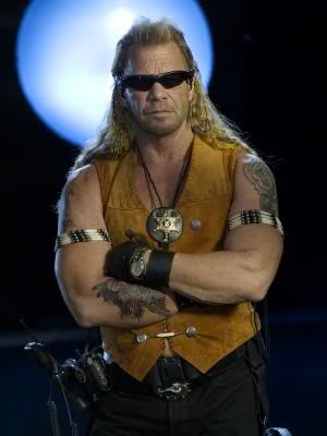 Duane Chapman Long Blonde Mullet Hairstyle