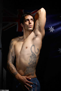 Australian Cricket Player Mitchell Johnson Tattoos