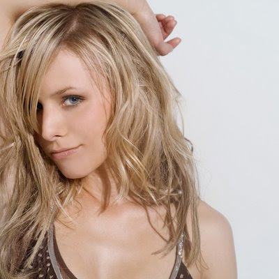 popular long layered hairstyles. Kristen Bell with Long Layered Haircut