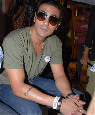 Bollywood Actor Arjun Rampal Tattoo Design