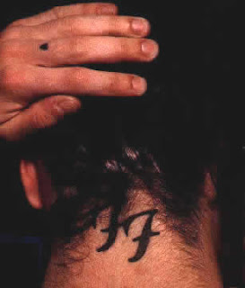 Dave Grohl Tattoos - Celebrity Tattoo Designs