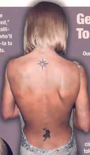 Geri Halliwell Tattoos - Celebrity Tattoo Designs