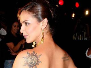 Bollywood Actress Esha Deol Tattoos - Celebrity Tattoo Design