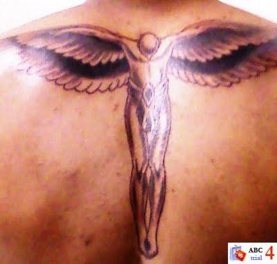 archangel tattoos. Angel Tattoo Design