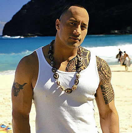 The Rock Tattoos, Dwayne Johnson Tattoos