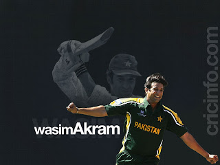 Wasim Akram Hairstyle Picture
