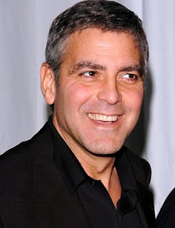 Geeorge Clooney Short Hairstyle Pictures