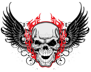 Tattoo Concept: Winged Skulls For Tattoos - Skull with Wings Tattoo