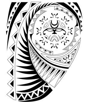 Maori Tribal Tattoo Design Picture 3