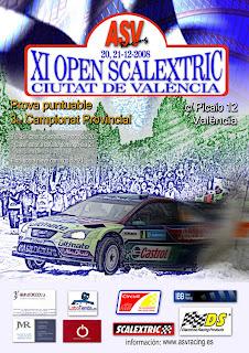 XI Open Rally Scalextric Ciudad de Valencia