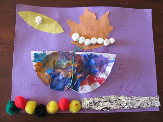 The Very Hungry Little Caterpillar art activity