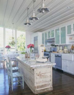 Mad About Pink: Shabby Chic Kitchens - how to