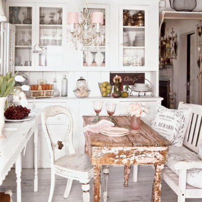 Shabby Chic Kitchens - how to