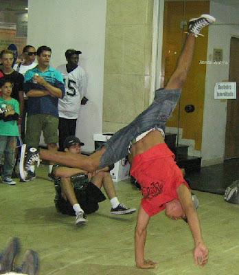 Pandeirada regada a Hip Hop