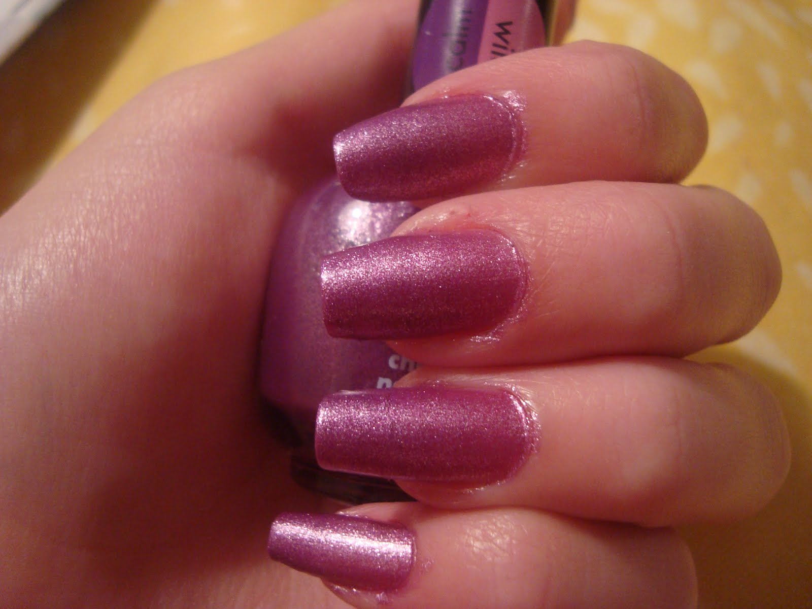 Try acrylic nails to get your nails still look horrible