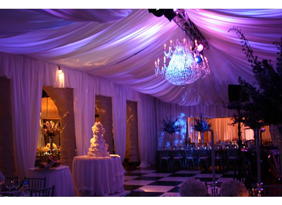 There are various lighting colors the can compliment your wedding theme or