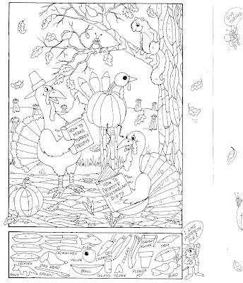 Hidden Pictures Publishing Coloring Page and Hidden Picture