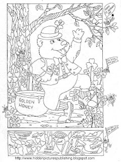 ... , and More! : St. Patrick's Day Hidden Picture Puzzle/Coloring Page