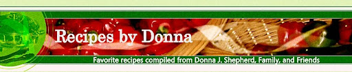 Recipes by Donna
