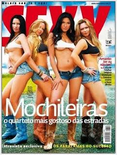Sexy Abril - Mochileiras (Fotos Digitais)