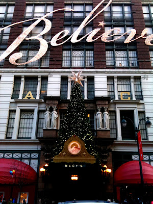 Macy's at Christmas NYC