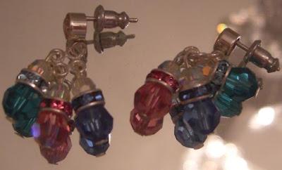 Diamond Effects: Mother Earrings