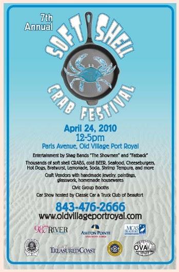 I Love Port Royal Sc Soft Shell Crab Festival April 24th