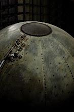 Saturn Nitrogen Tank