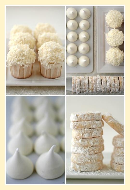 Christmas cookies recipes christmas food christmas - Black and white food ideas ...