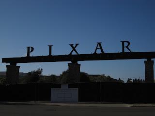 les portes du studio Pixar