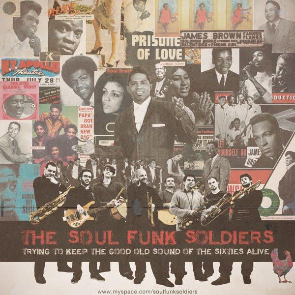 Affiche SOUL FUNK SOLDIERS