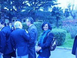 Mi 1o encuentro con la presidente Cristina
