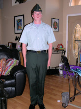 Joe in his uniform....