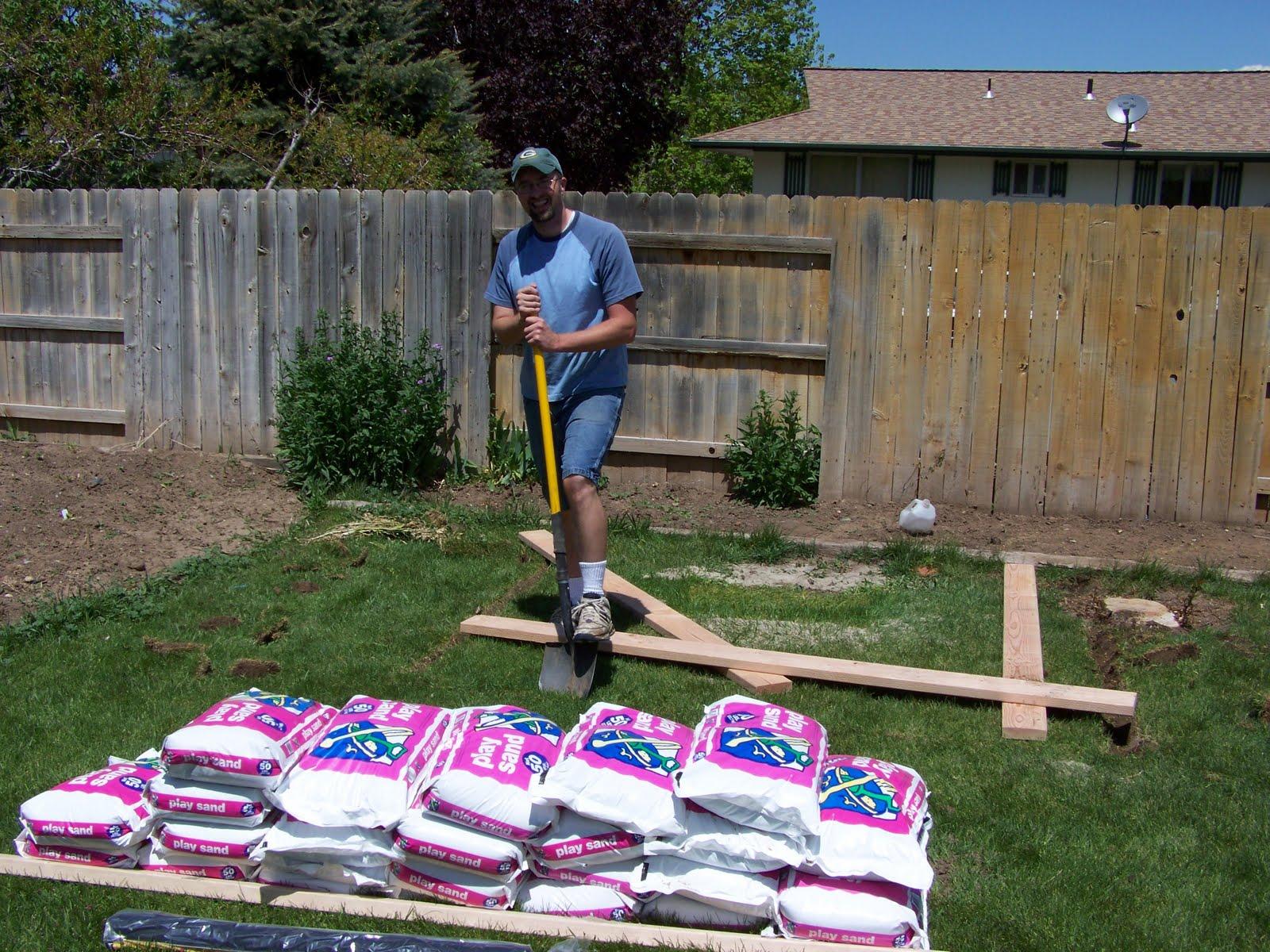 rachelle u0027s writing spot building a sandbox