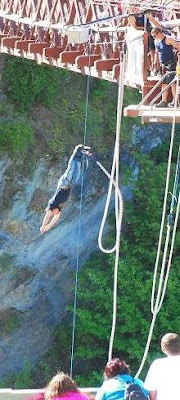 Marc's First Bungy Jump
