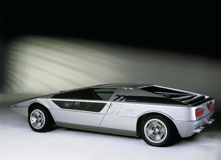 CAR: Maserati Boomerang (Italdesign,1971)
