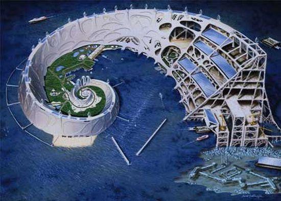 Future Underwater Architecture Unrealistic Fut