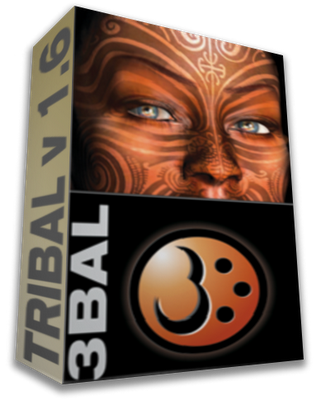 tribales para tatuajes. Tribal Tattoo Designer es el software ideal para crear nuestros propios