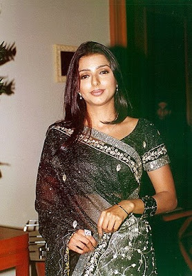 South Indian Actress in Black Saree Photos  http://designersareeimages.blogspot.com/