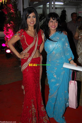Shibani Kashyap at Eesha Koppikar wedding party