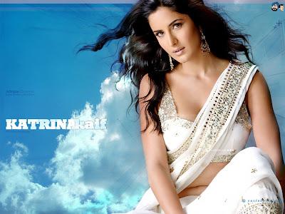 Katrina Kaif in Designer Saree Collection