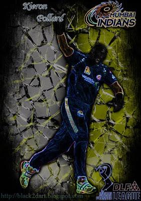 Kieron Pollard - Mumbai Indians (IPL 2010)
